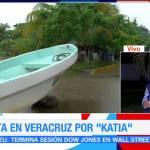 Alerta en Veracruz por huracán 'Katia'