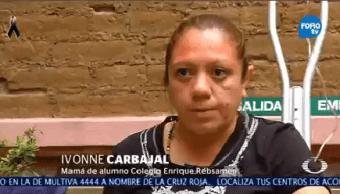 Alumnos Colegio Rébsamen Relatan Lograron Sobrevivir Sismo