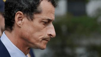Anthony Weiner fue sentenciado a 21 meses de cárcel