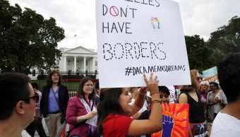 Daca, Dreamers, Trump, Estados Unidos, protesta
