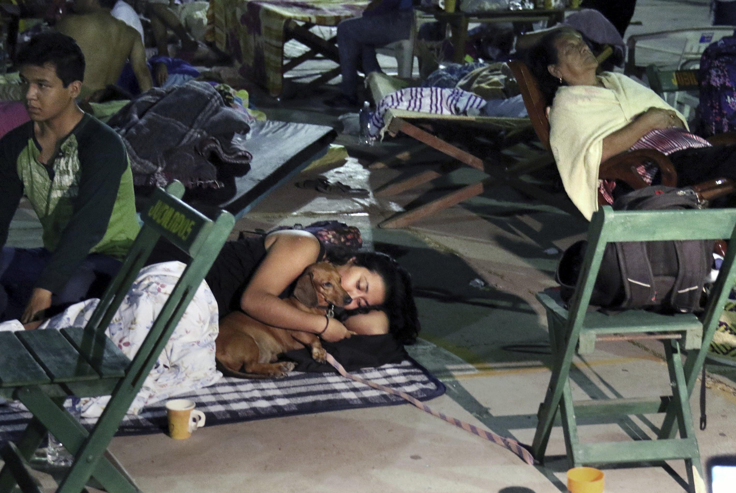 Un fuerte terremoto sacudió a Ciudad de México