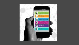 Aplicación móvil de la PGJCDMX para denunciar