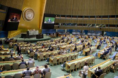 Asamblea General de Naciones Unidas en Nueva York
