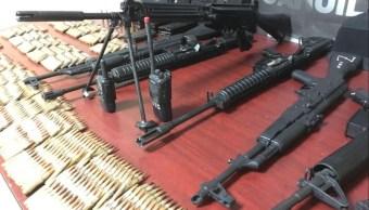 autoridades de coahuila aseguran armamento en coahuila