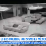 Así fue el terremoto de 8.2 grados en México