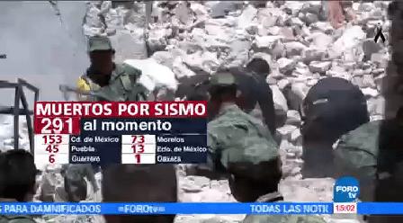 Aumenta Cifra Muertos Sismo Gobierno De La Cdmx