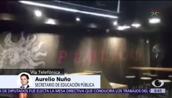 Aurelio Nuño afirma se hará revisión de infraestructura escolar en 11 entidades