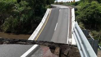 Capufe evalúa daños carreteras y puentes sismo