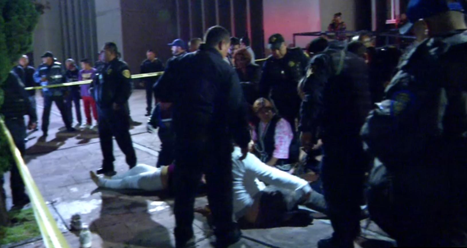 Disparan contra cuatro personas frente al Ministerio Público
