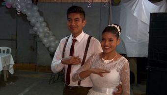 pareja boda matrimonio sismo departamento xochicalco