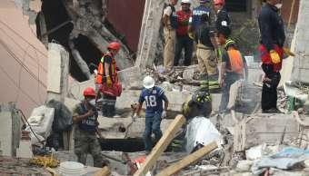 Brigadistas trabajan en rescate de Petén y Zapata, en la CDMX