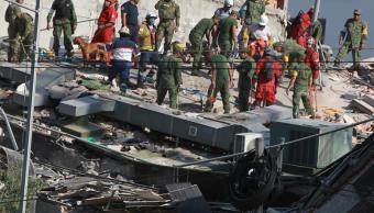 Hasta ahora 147 personas muertas sismo