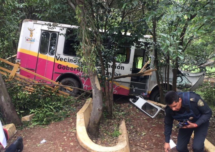 camion frenos parque aguilas delegacion alvaro