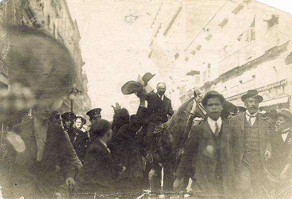 Madero entra a la Ciudad de México