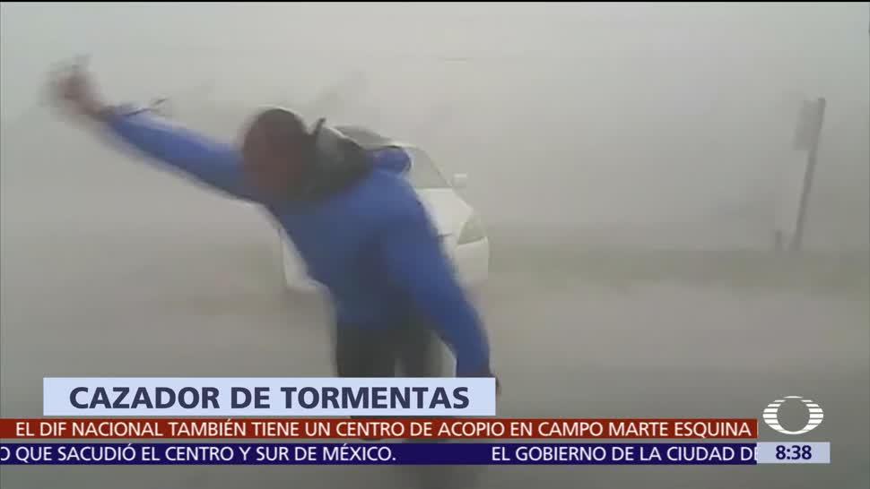 Cazador Tormentas Enfrenta Huracán Irma