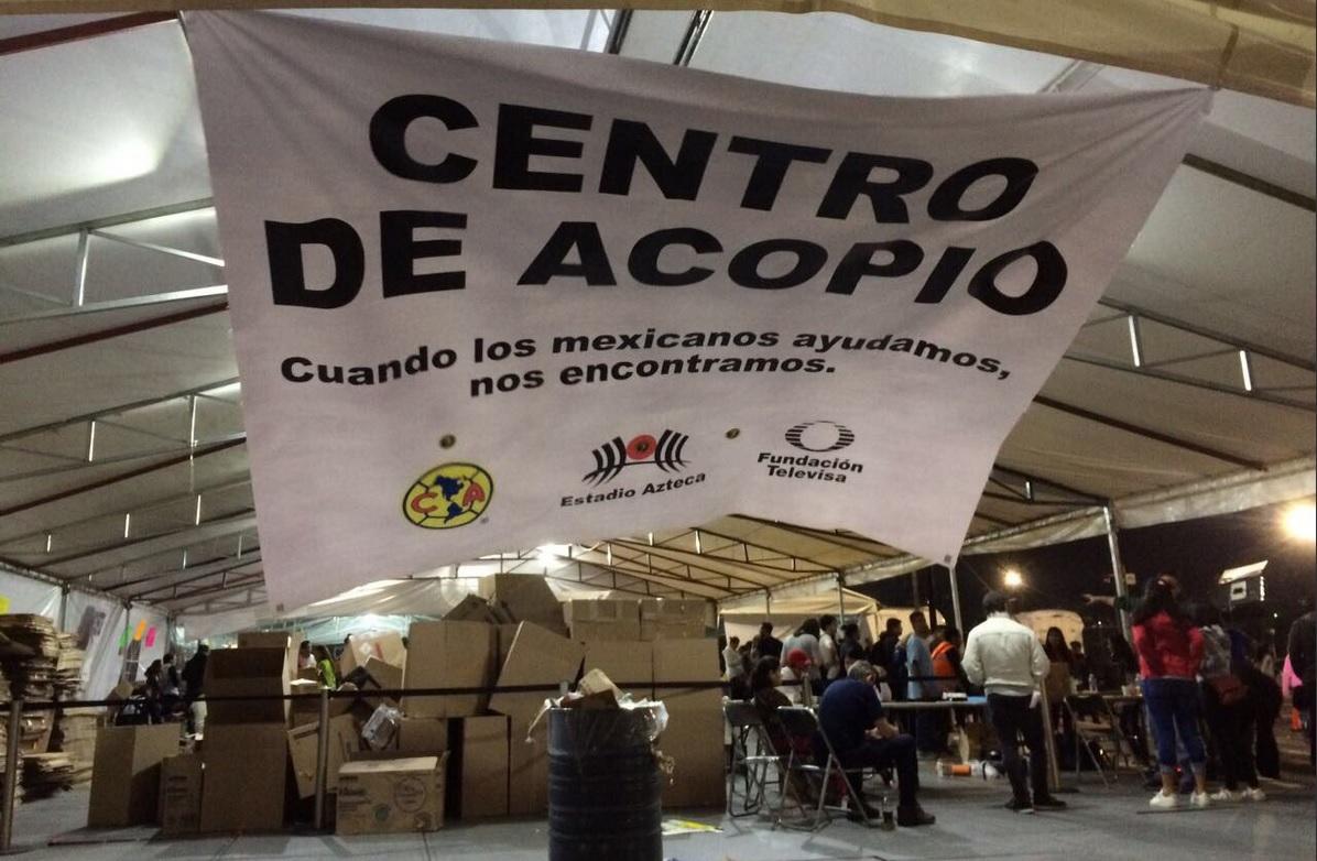 Fundación Televisa entrega víveres en Puebla y Morelos