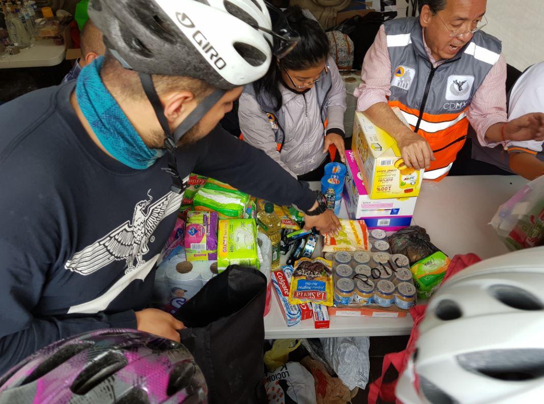 Abre PRD centro de acopio para damnificados de Chiapas y Oaxaca