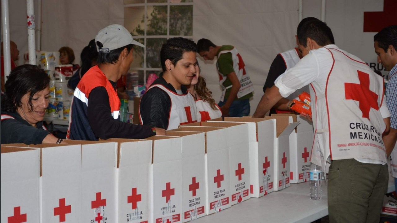 Cruz Roja abrirá centros de acopio para damnificados