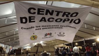 Fundacion Televisa instala centros de acopio para damnificados por sismo