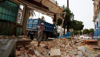 La SCT ayudará en la reconstrucción de Oaxaca y Chiapas