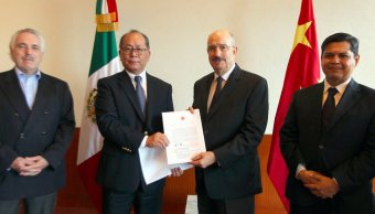 China dona gobierno México víctimas sismo