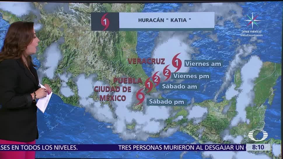 Clima Al Aire Pronostican tormentas en Veracruz, Puebla e Hidalgo