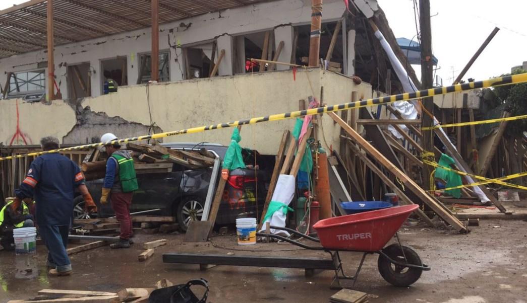 La escuela Enrique Rébsamen sufrió severos danos con el terremoto.