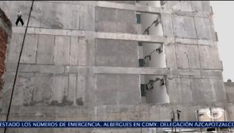 Colocan Sellos Edificio Colapsado