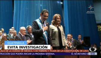 Congreso, Guatemala, rechaza, fuero