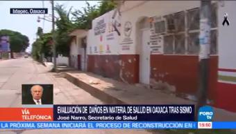 Continúa Etapa Evaluación Inmuebles Oaxaca Narro