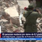 Continúa valoración de inmuebles afectados por sismo Luis Felipe Puente