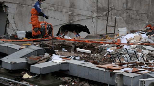 Continúan las labores de rescate en la Ciudad de México