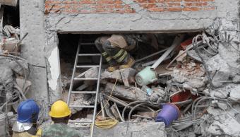 Labores de rescate tras terremoto del 19 de septiembre. (AP, archivo)