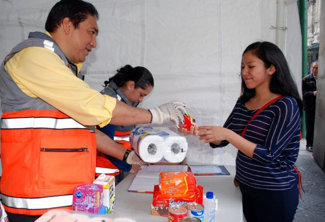 acopio cdmx sismo dif chiapas Oaxaca
