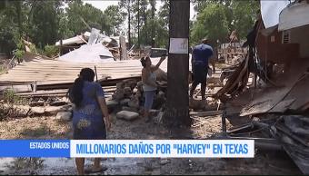 Cuantifican en millonarias las afectaciones que causó 'Harvey' en Texas