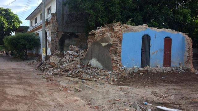 daños en oaxaca por sismo del 7 de septiembre