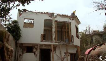 Demolerán 80 casas dañadas en Álvaro Obregón, CDMX, tras sismo del 19-S