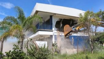 Demolerán escuela por riesgo de hundimiento tras sismo en Tlajomulco