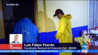 Deslaves Veracruz Muertos Reporta Luis Felipe Puente