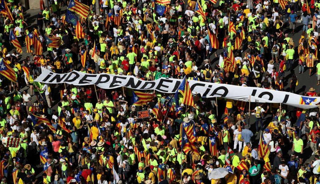 Miles celebran Día Cataluña y claman su independencia