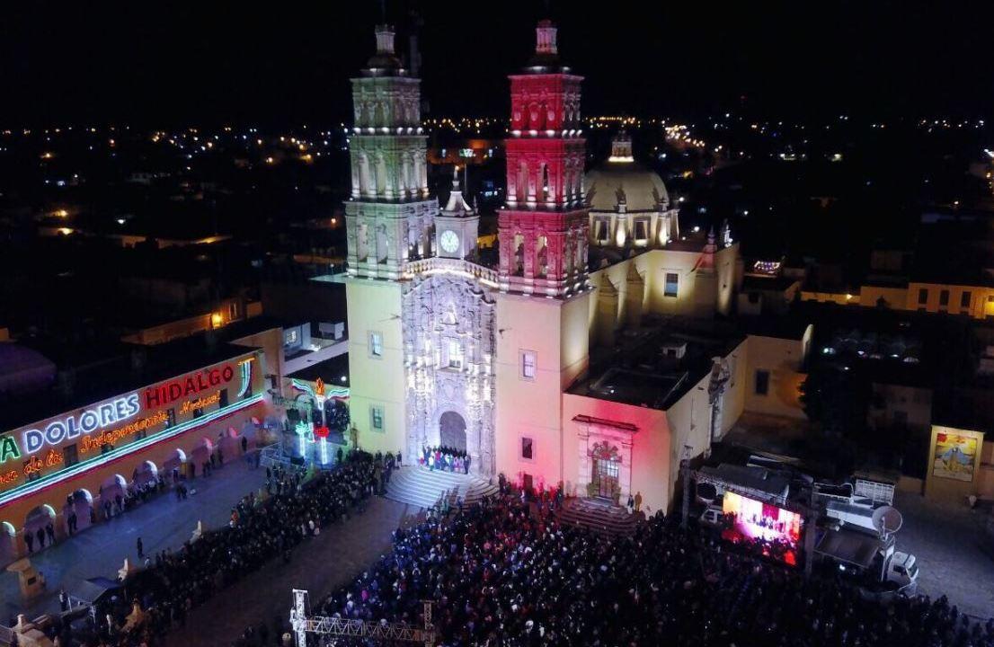 Guanajuato realiza desfile en Dolores Hidalgo por Independencia
