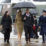 Trump regresa a visitar a las víctimas de 'Harvey'