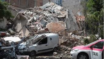 edificio colapsado en la condesa afecta a autos