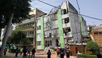 Edificios colapsados Benito Juárez fueron construidos 90s