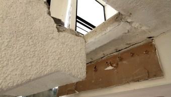 sismo deja daños estructurales edificio doctores