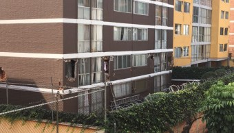 unidad habitacional sobre miramontes suffre daños tras sismo