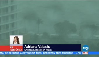 Efectos Huracán Irma Seguirán Sintiendo Lunes Florida