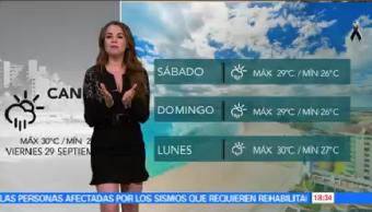 Clima Noticias Mayte Carranco Mayoría Territorio Nacional