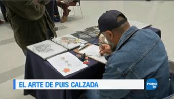 Ilustrador Mexicano Puis Calzada Artista Cómics