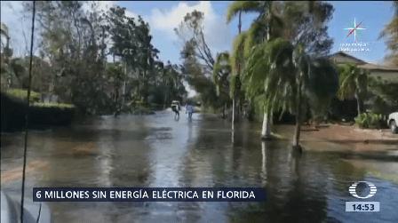 Paso Huracán Irma Florida Cayos Eu